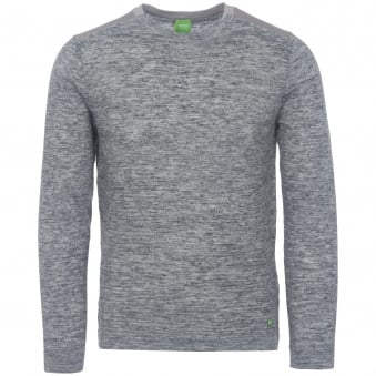 Light Grey Melange Renny Sweater