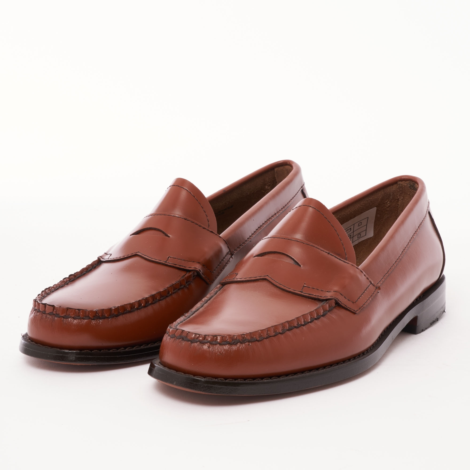 d0abfa3a897 Bass Weejuns Logan Polished Leather Loafer
