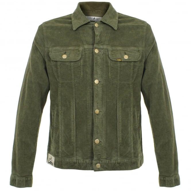 Lois Jeans Tejana Thin Corduroy Khaki Jacket 10015083K