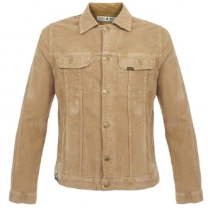 Lois Jeans Tejana Thin Corduroy Tan Jacket 10015083T