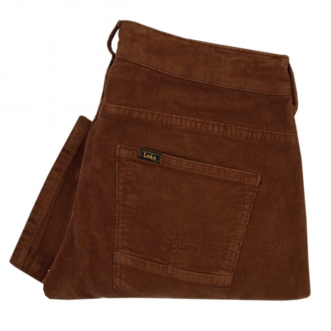 Lois Jeans Lois Sierra Thin Brown Corduroy Trousers 5083