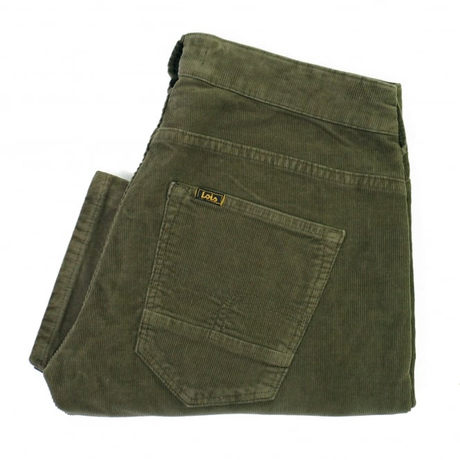 Lois Jeans Lois Sierra Thin khaki Corduroy Trousers 5083