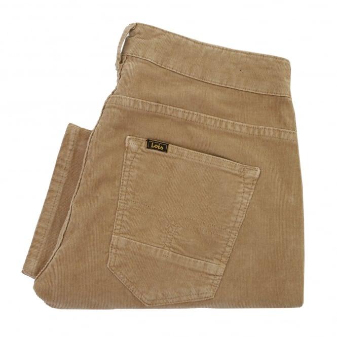 Lois Jeans Lois Sierra Thin Tan Corduroy Trousers 5083