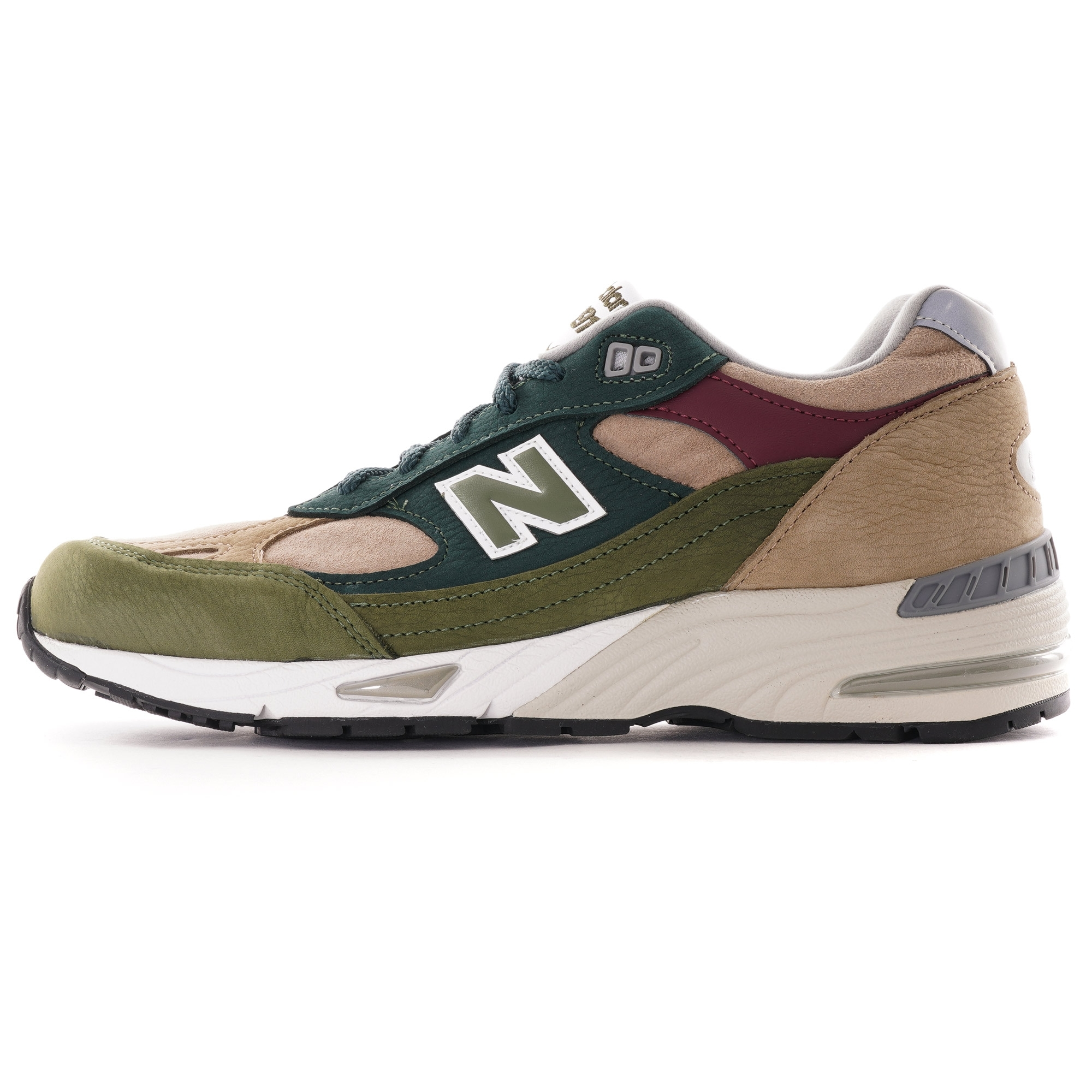 New Balance Made In UK 991   Green/Red   M991NTG