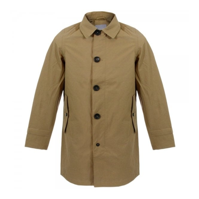 Matinique Bramann Brown Soil Trench Coat D58137001