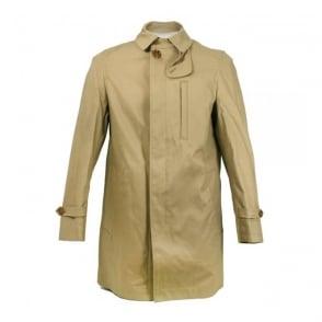 Matinique Cunningham Khaki Trench coat D43901003