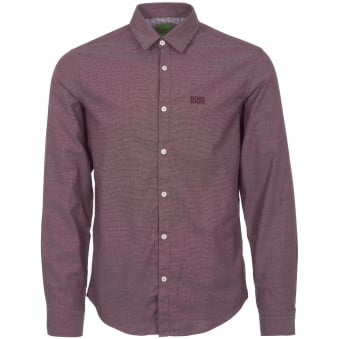 Medium Red Oxford Shirt
