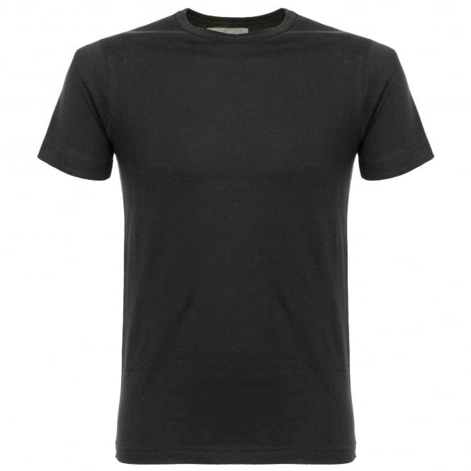 Merz b Schwanen 1950's Organic Cotton Black T-Shirt