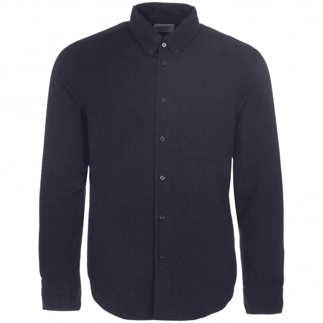 Naked and Famous Denim Midnight Brushed Tribal Shirt