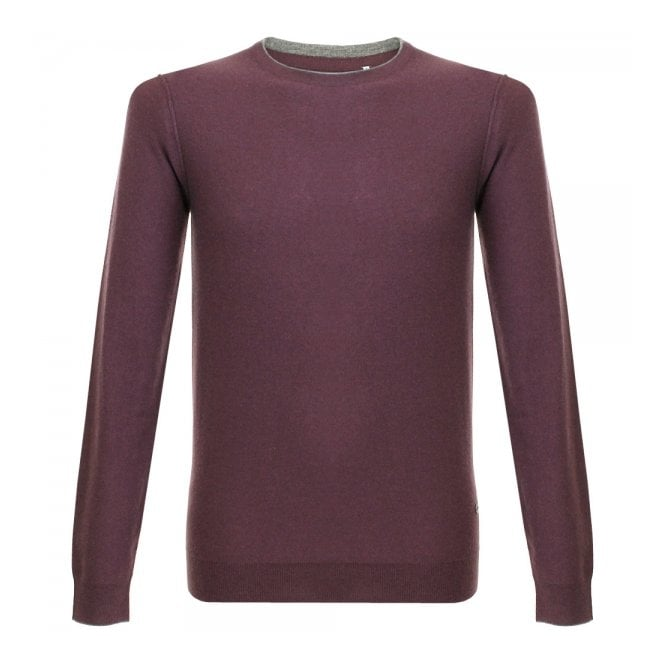 Minimum Dover Knit Plum Jumper 11395049