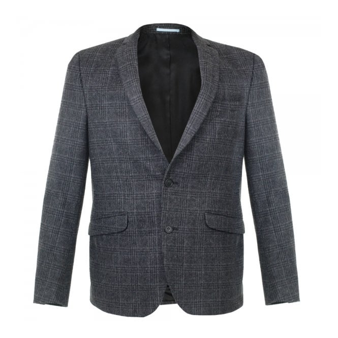 Minimum Whitman Charcoal Wool Blazer 11551