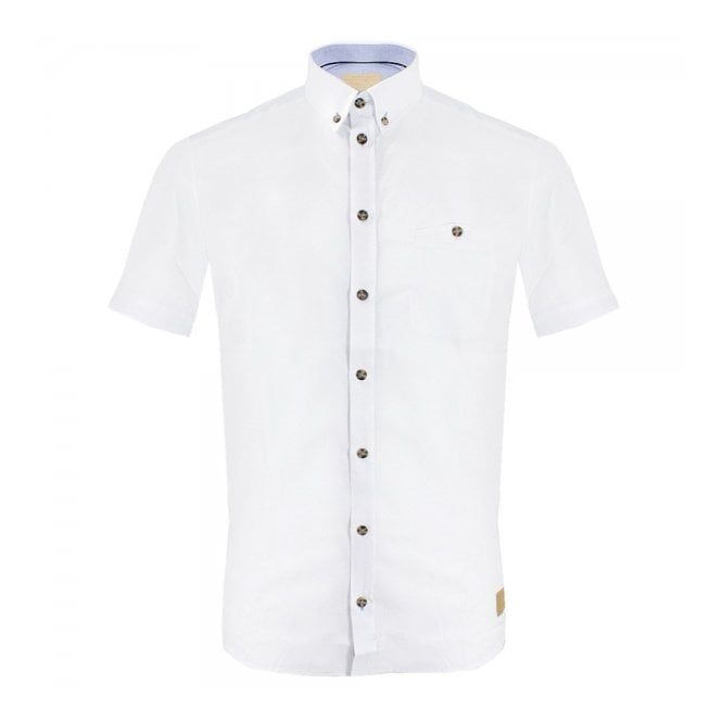 Minimum Zorion White Shirt M4116015121