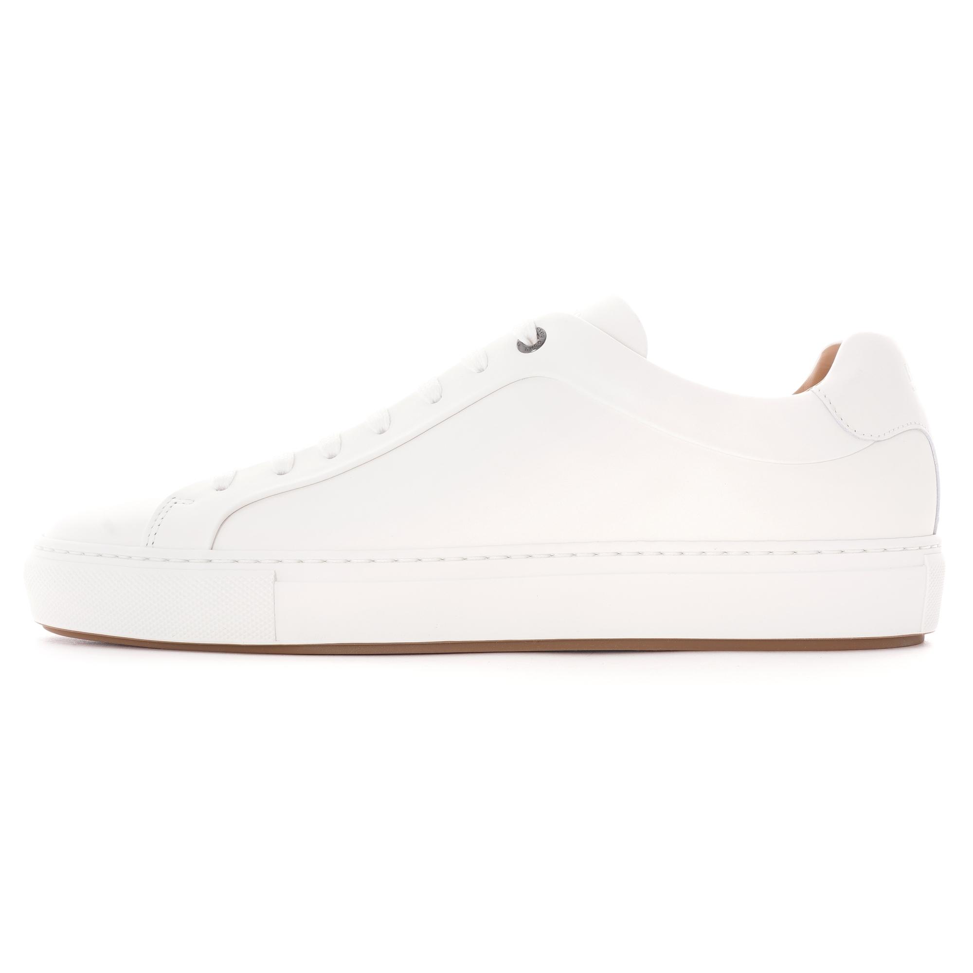 hugo boss white tennis shoes Online