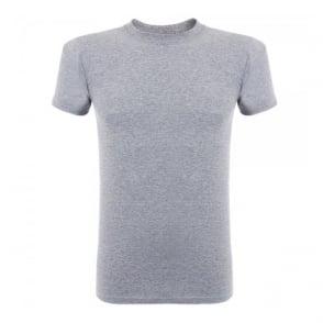 Naked and Famous Vintage Circular Knit Grey T-Shirt