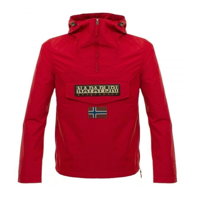 Napapijri Rainforest Red Slim Jacket N0Y9SY094