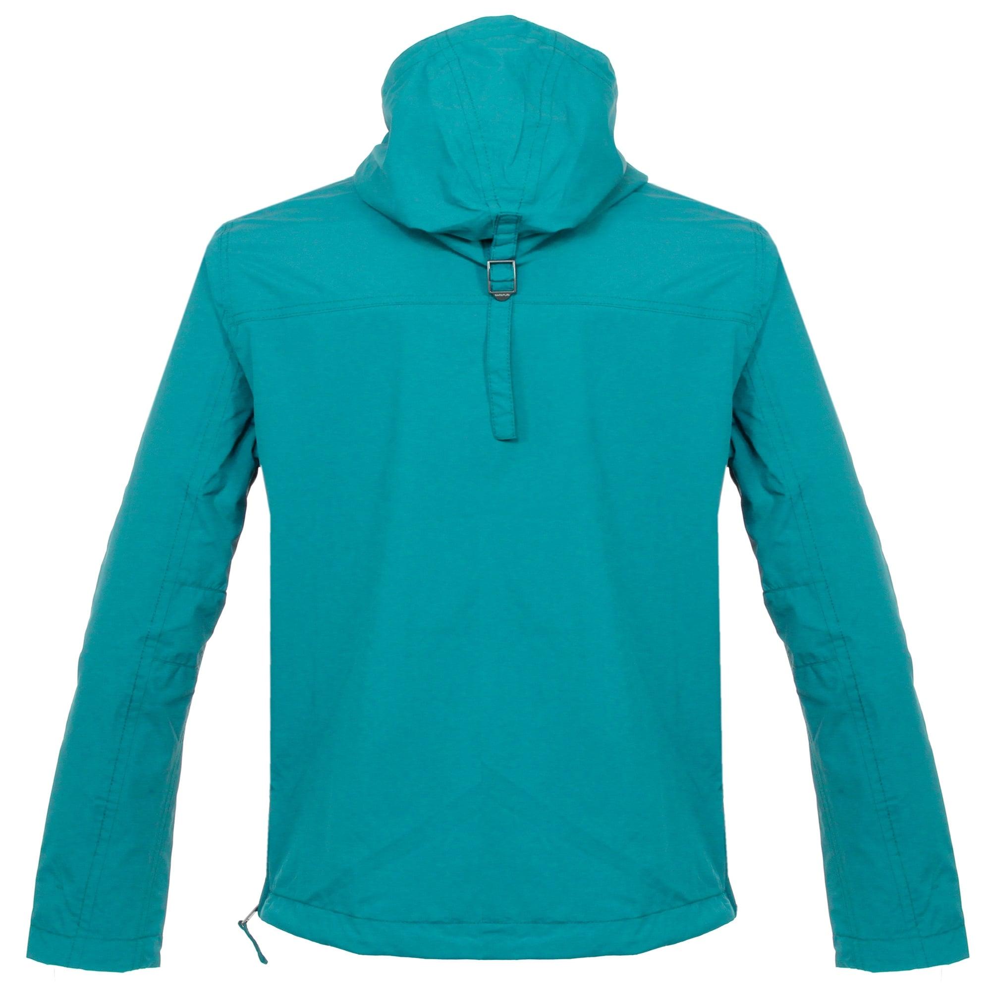 Napapijri Rainforest Summer Caribbean Blue Cagoule Jacket