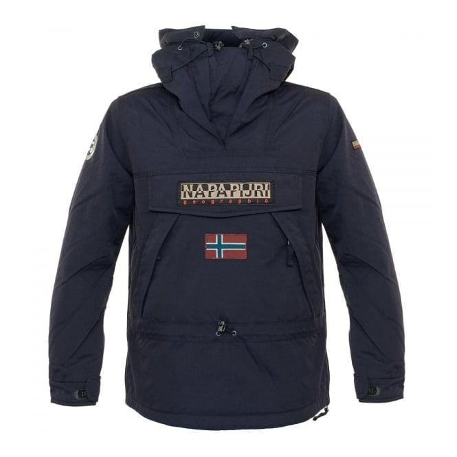 Napapijri Skidoo Blue Marine Kagoule Jacket N0Y7ZB176