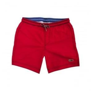 Napapijri Villa Solid Romantic Red Shorts