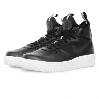 Nike Air Force 1 Ultraforce Mid Black Shoe 864014 001