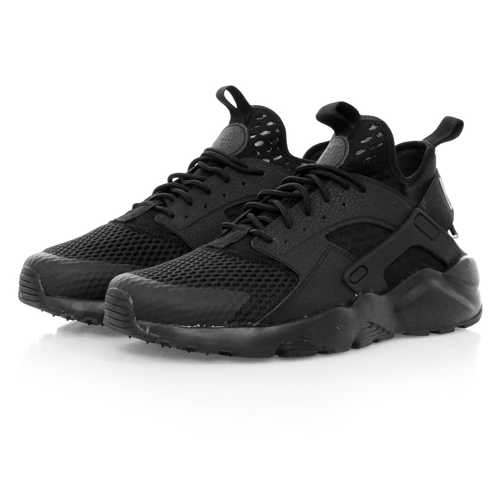 nike air huarache run ultra breathe black shoes. Black Bedroom Furniture Sets. Home Design Ideas