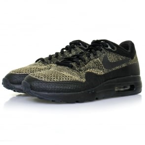 Nike Air Max 1 Ultra Flyknit Neutral Olive Shoe 856958 203