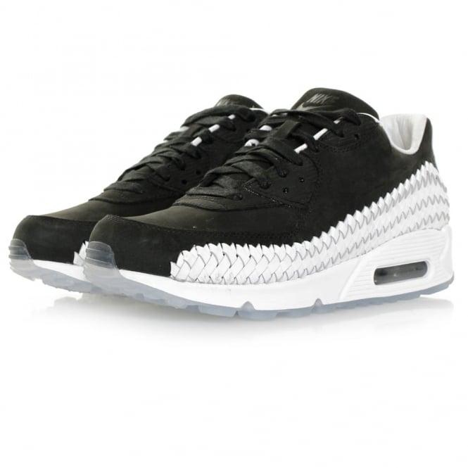 Nike Air Max 90 Woven Black Shoe 833129 003