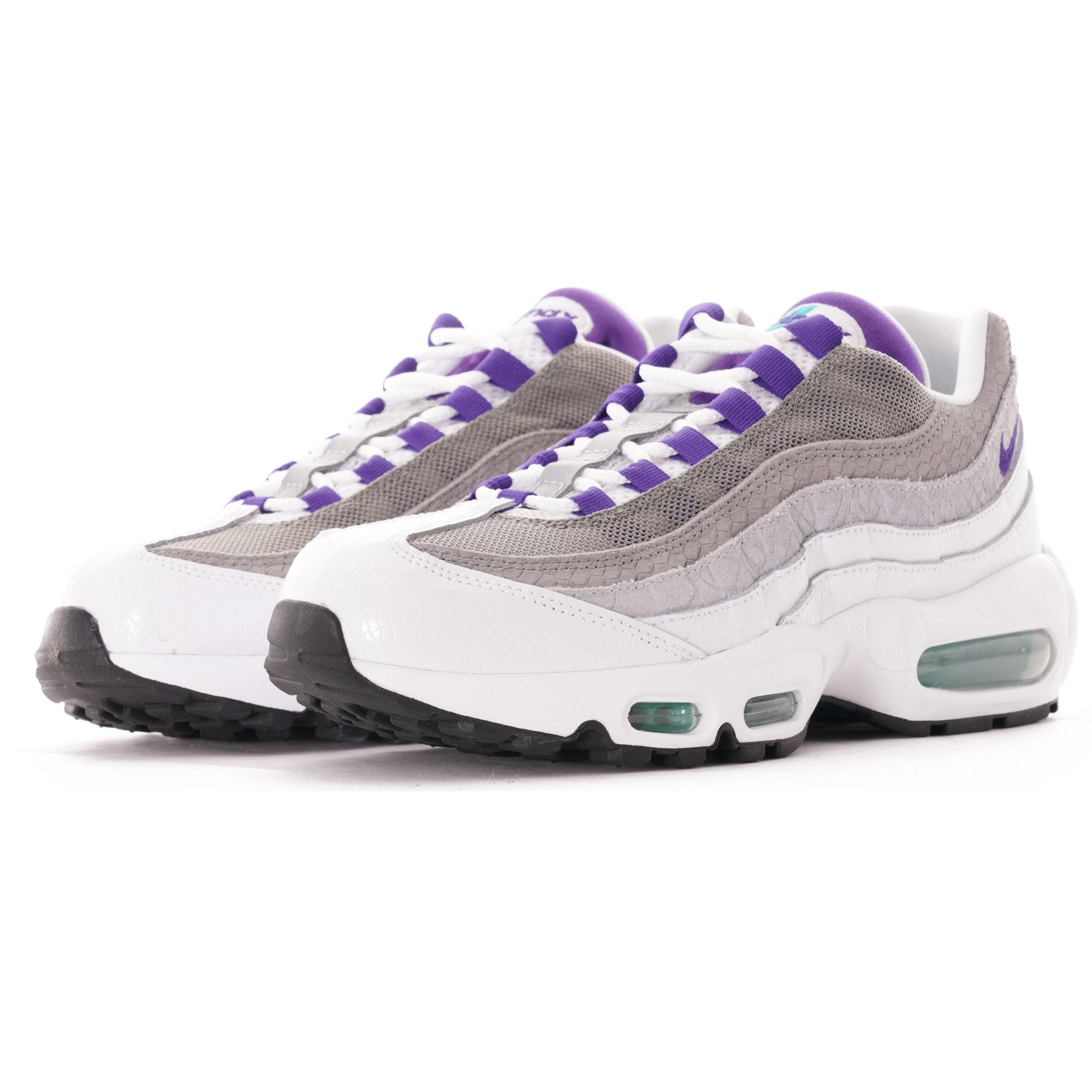 Nike Air Max 95 LV8 - White/Court Purple
