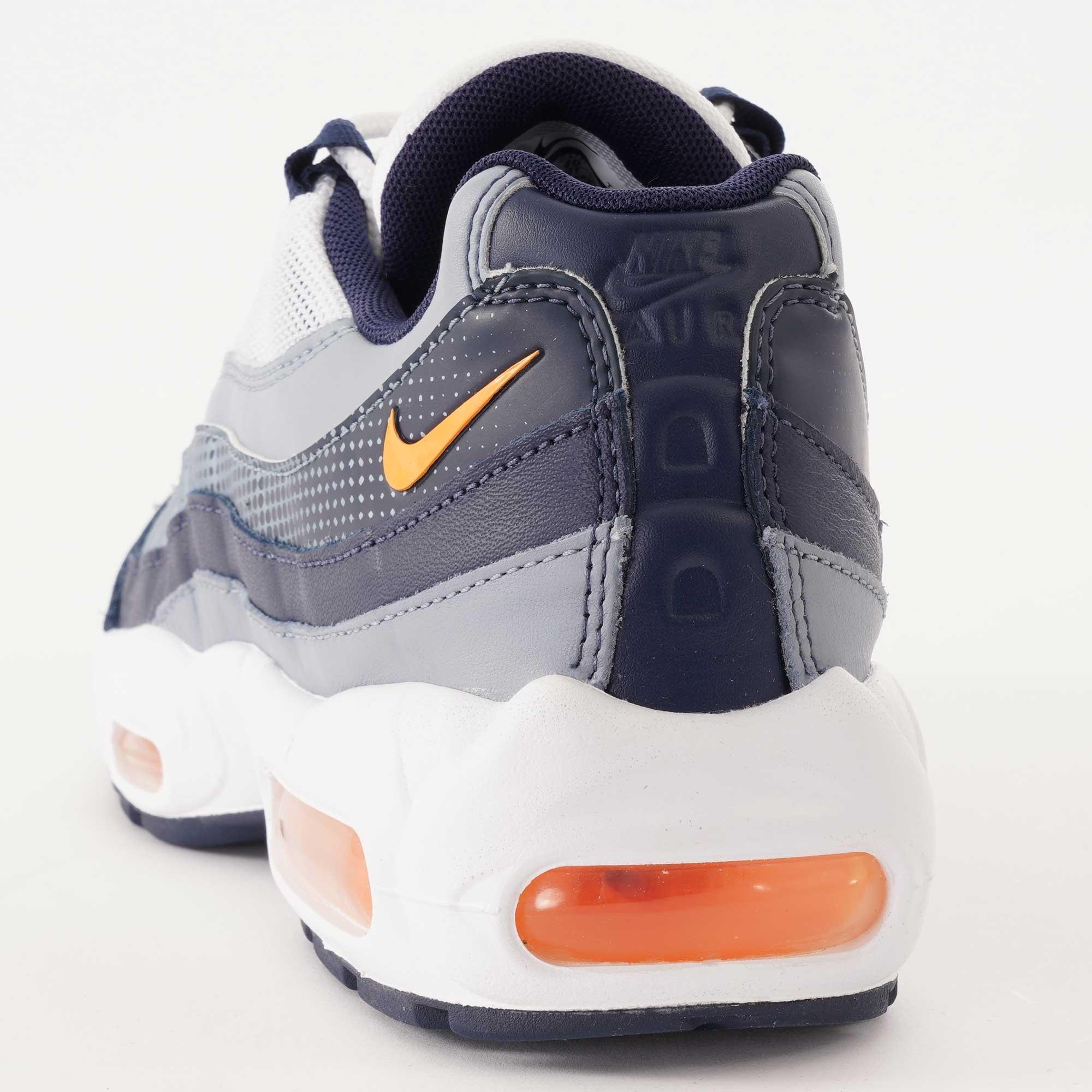 air max 95 navy blue and orange