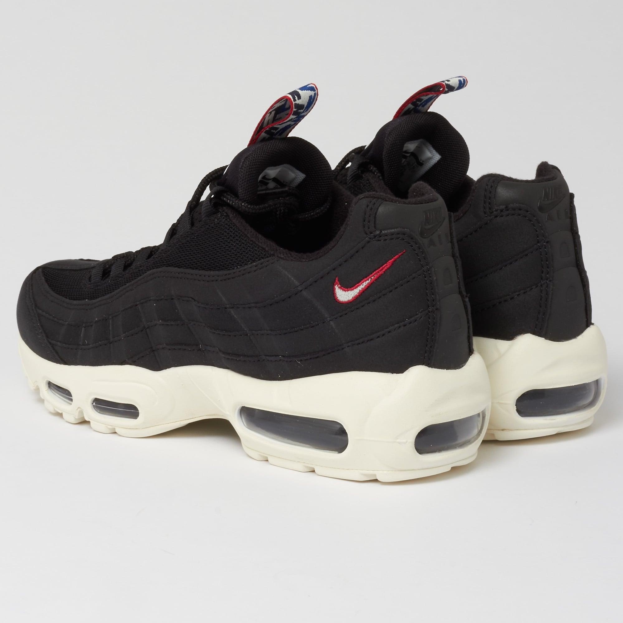 137d357251b nike air max 95 all black on feet nz
