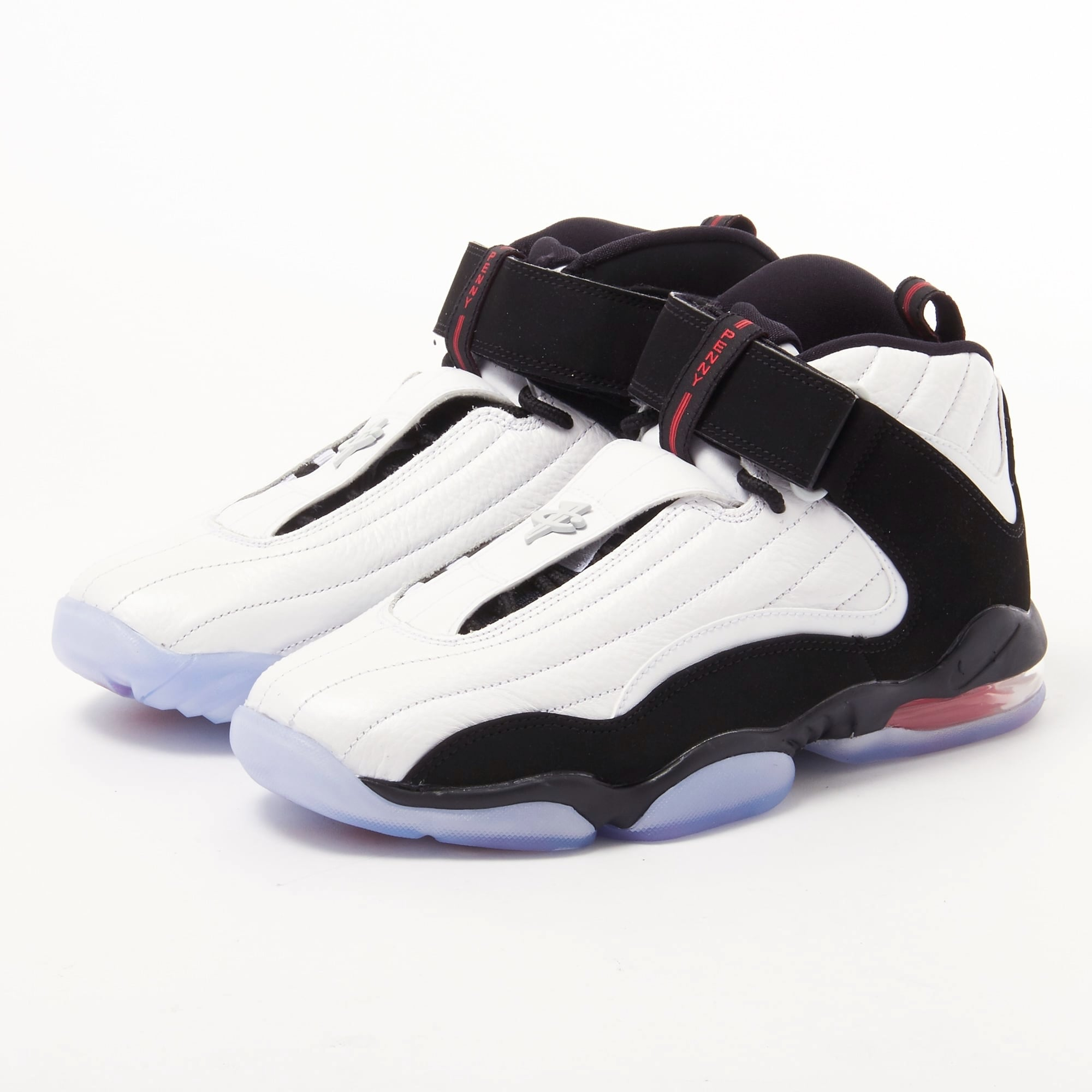 (864018-101) MEN'S NIKE AIR PENNY IV WHITE/BLACK/TRUE RED