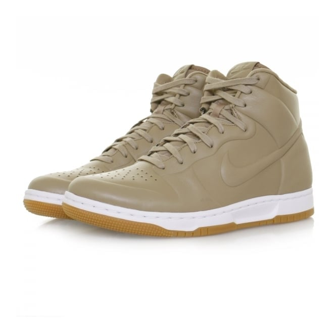Nike Dunk Ultra Craft Leather Khaki Shoe 855957 200