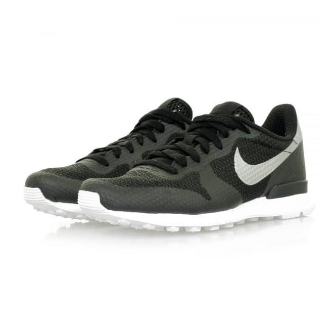 Nike Internationalist NS Black Metallic Silver Shoe 833912-001