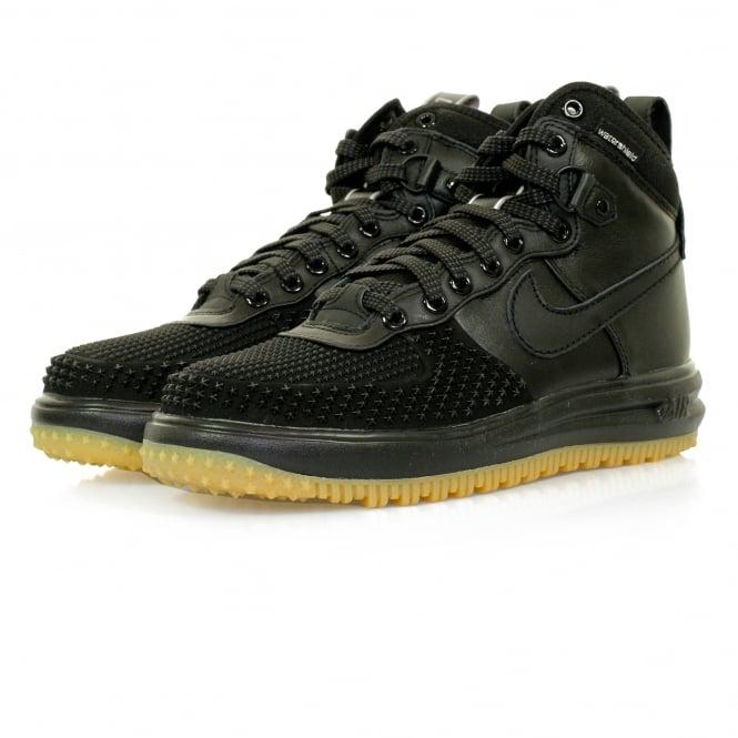 Nike Lunar Force 1 Duckboot Black Shoe 805899 003