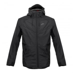 Nike Tech Hypermesh Windrunner Black Jacket 826068010