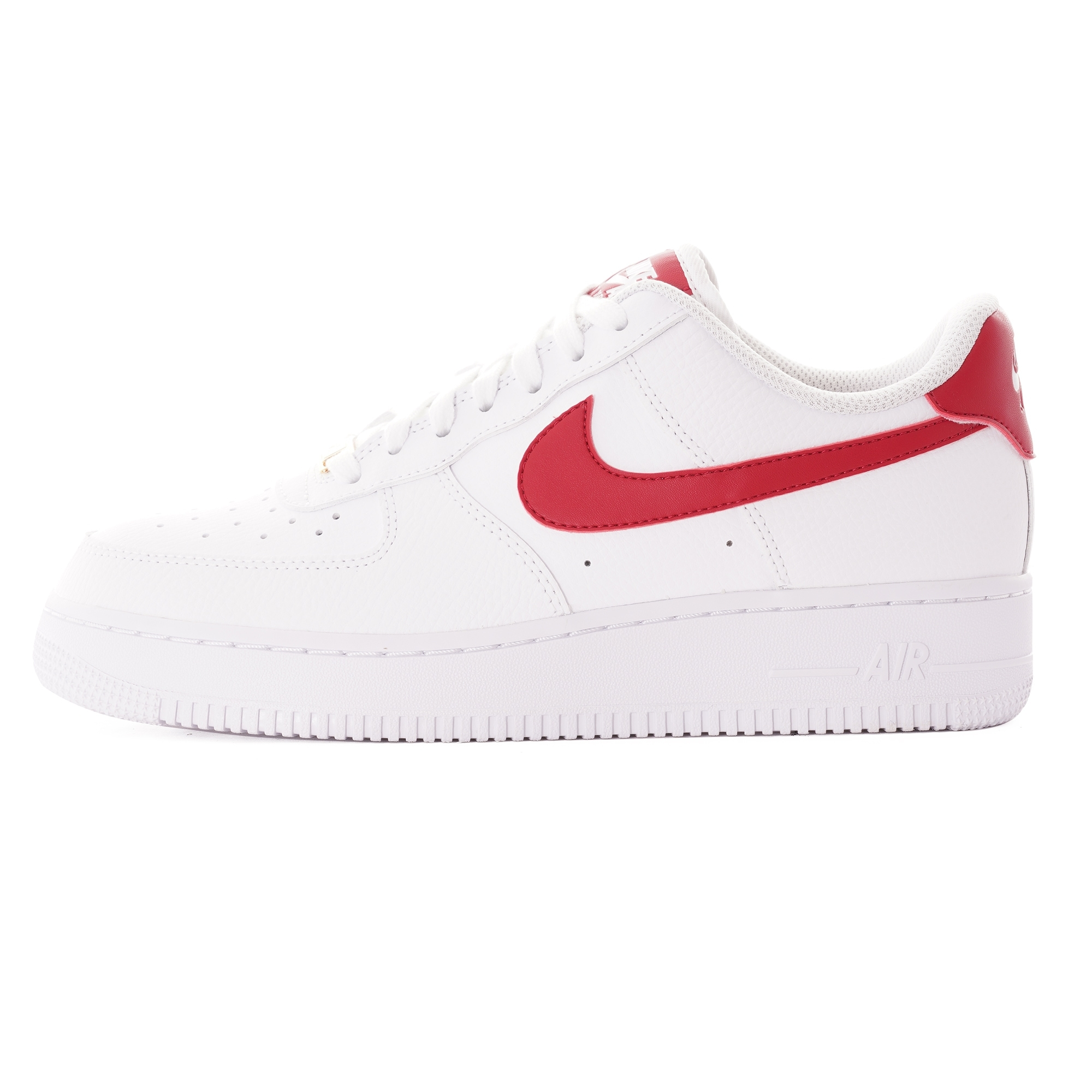 Nike Air Force 1 07 shoes red gold white | WeAre Shop