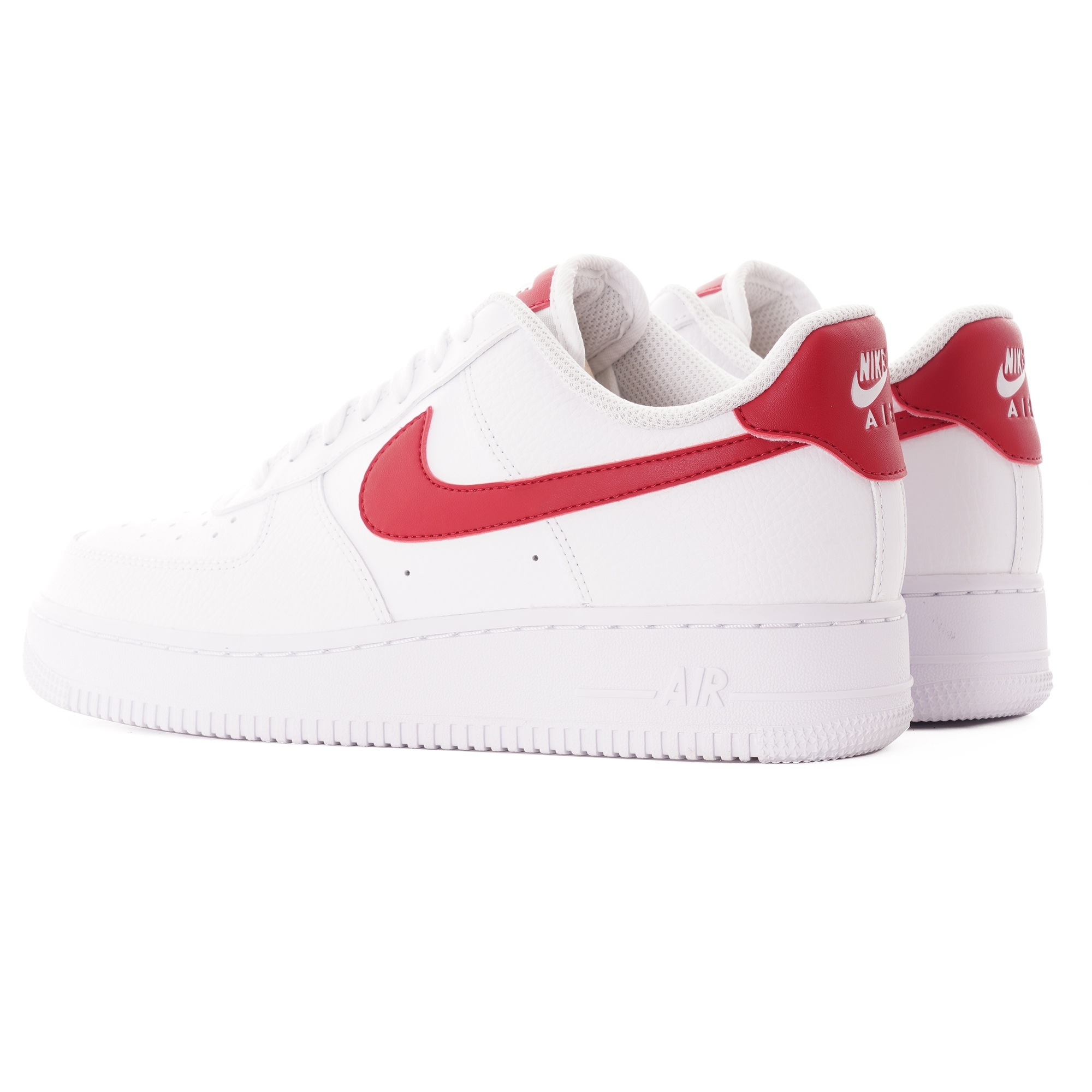 Nike Women's Air Force 1 '07 - White/Gym Red/Gold