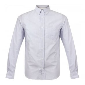 Norse Projects Anton Oxford Navy Stripe Shirt N40-0202