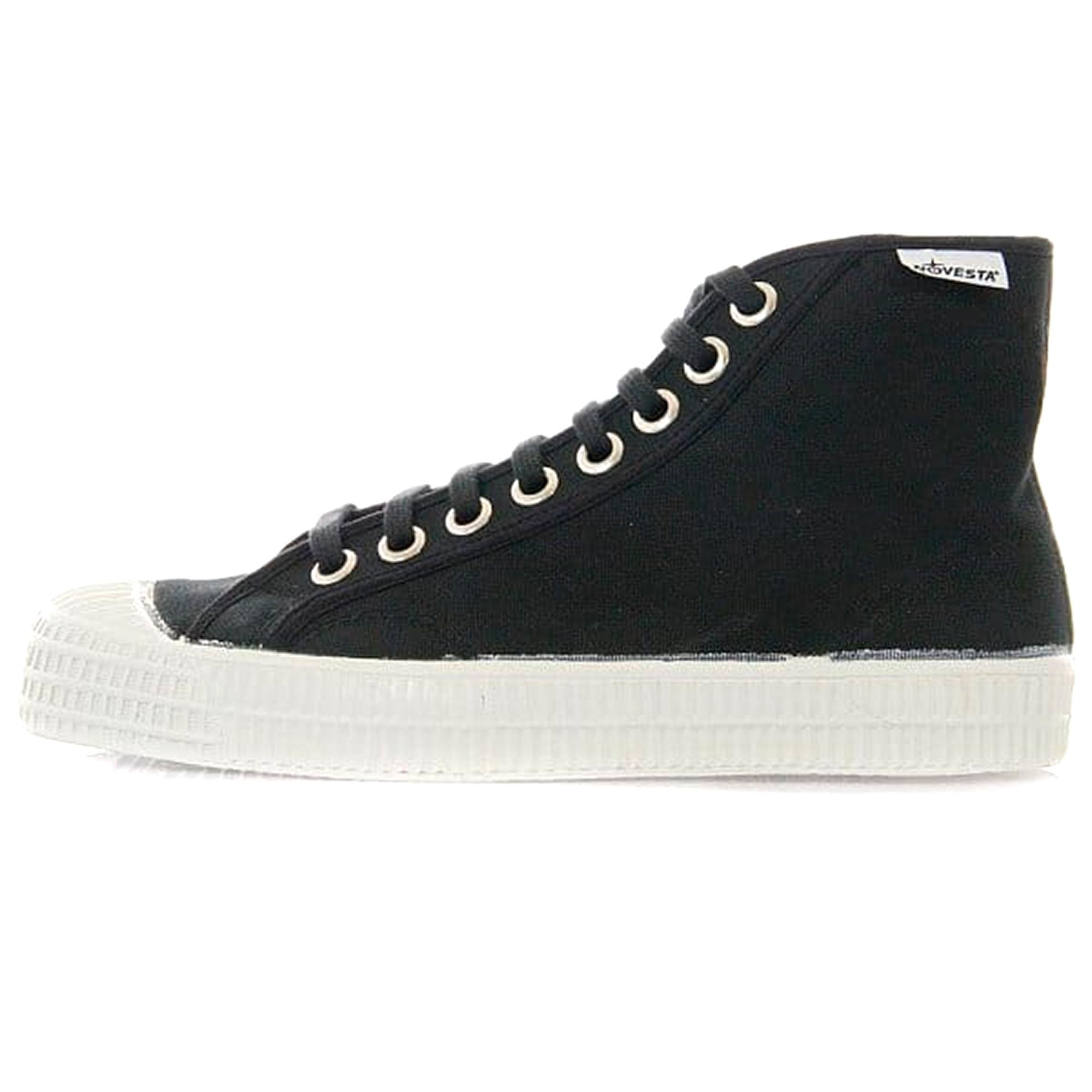 Star Dribble Black Hi Top Shoes