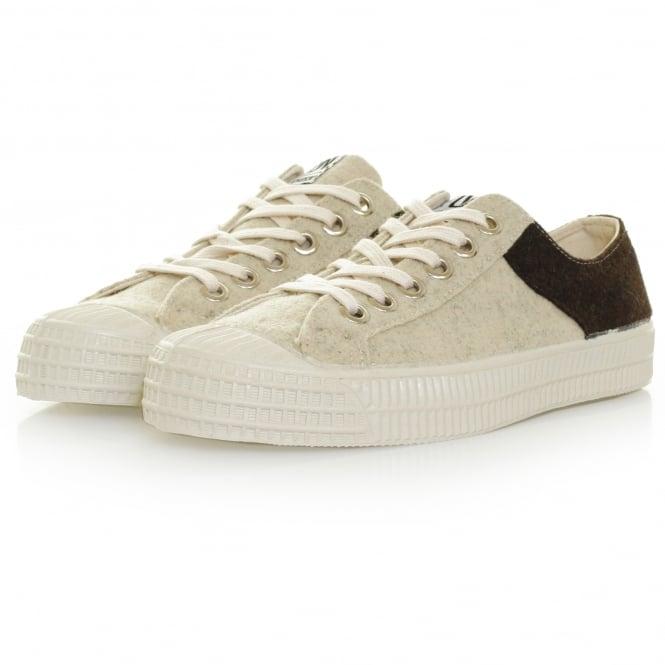 Novesta Footwear Novesta X Universal Works Star Master Wool Grey Ebony Ecru Shoe 729337