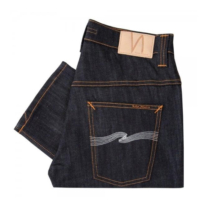 Nudie Jeans Nudie Thin Finn Organic Dry Ecru Embo Denim Jeans