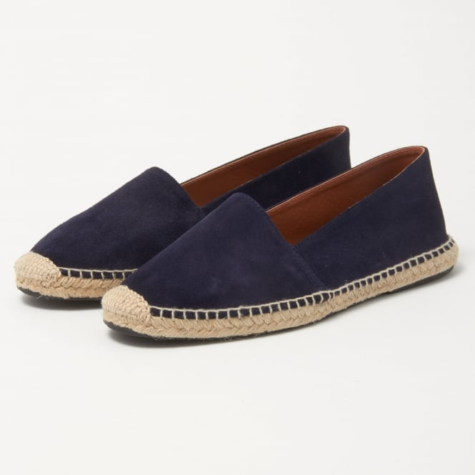 OBIstudio Obi Studio Apolo Blue Split Leather Espadrille 1001007