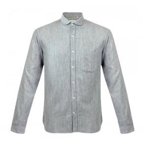 Oliver Spencer Eton Collar Brinton Grey Shirt OSS69B
