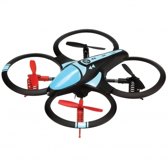 Orbit Long Range Acrobatic RC Aerial Quadcopter Drone - Black