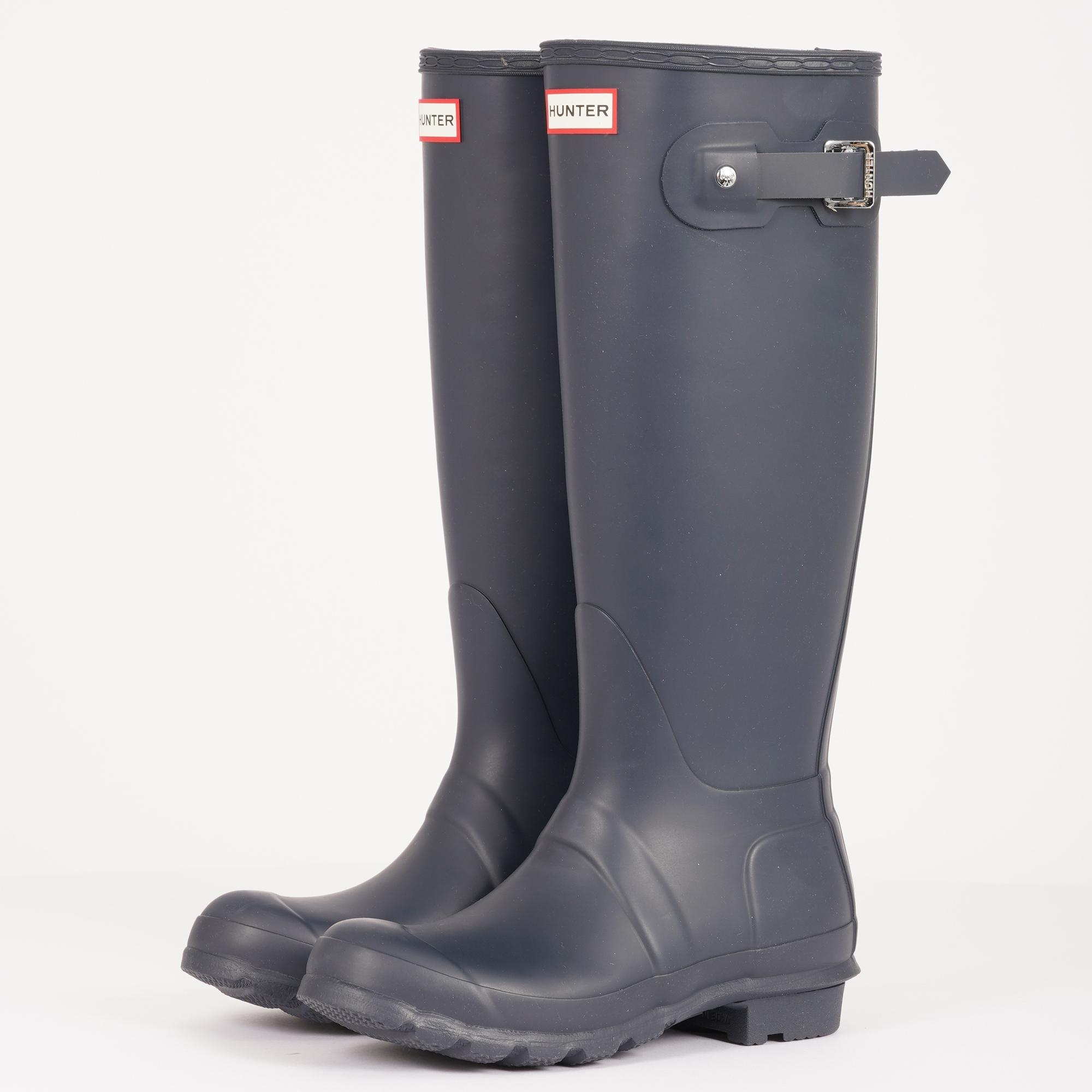 a180ef10302 Hunter Womens Original Tall Wellington Boots