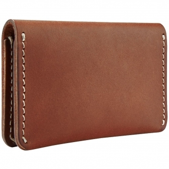Oro Russet Leather Card Holder