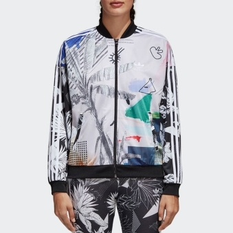 Oversized Track Top - Multicoloured