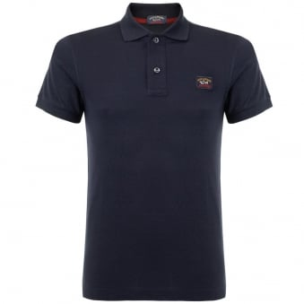 Paul & Shark Pique Navy Blue Polo Top 13P1000SF