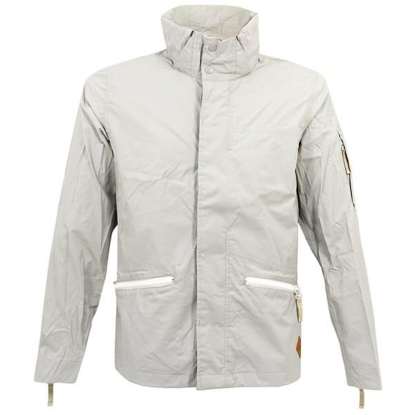 White Waterproof Jacket - JacketIn