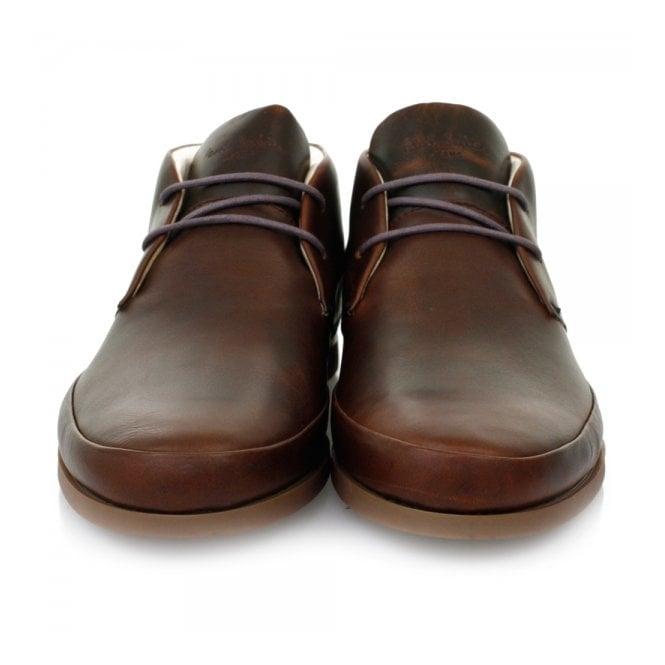 Paul Smith Online Shop Loomis Dark Brown Chukka Boots Snxg P226 Bdo