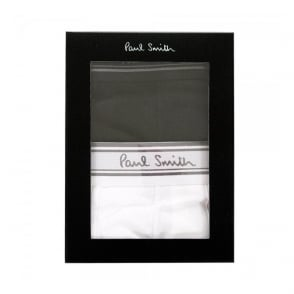 Paul Smith White and black Men Trunk Pack AMXA-2PCK-2PL